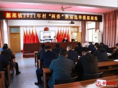 """山东昌乐:�o�N镇开展2021年村""""两委""""换届选举模拟演"""